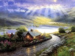 Paintings by Light Thomas Kinkade-1