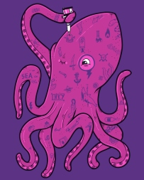 cool-funny-graphic-design-chicquero-inked-octopus