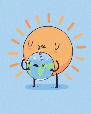 cool-funny-graphic-design-chicquero-sun-drinking-earth